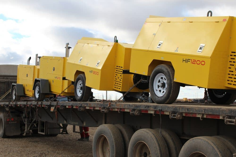 towable heaters, mobile heaters, jobsite heaters, construction heaters, industrial heaters, commercial heaters