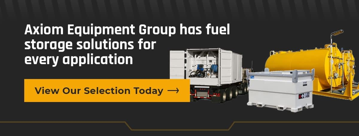 Axiom Equipment Group Fuel Storage Solutions