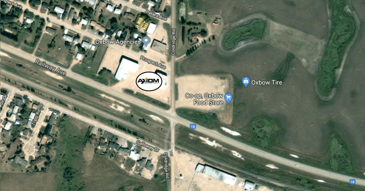 Axiom Equipment Group New Office Map Location