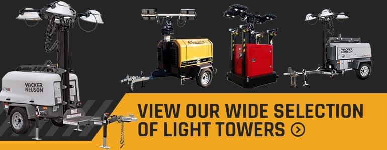 Browse Axiom Equipment Wide Selection of Industrial Light Towers